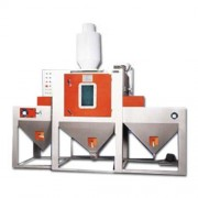 Conveying automatic blast machine